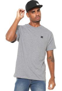 Camiseta Dc Shoes Premium Cinza