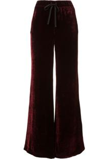 a06e78dd8 R$ 4549,00. Farfetch Unravel Project Calça Pantalona De Veludo ...