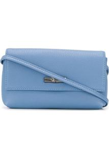 Longchamp Roseau Small Crossbody Bag - Azul