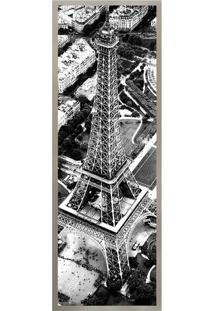 Quadro Decorativo Torre Eiffel- Preto & Branco- 30X8Arte Prã³Pria