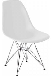 Cadeira Com Encosto Polipropileno Flórida Siena Móveis Branco