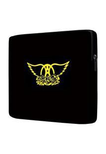 Capa Para Notebook Aerosmith 15.6 À 17 Polegadas Com Bolso