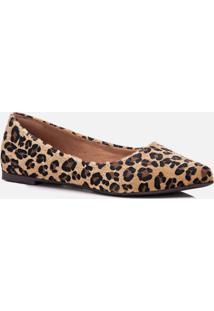 Sapatilha Feminino Milano Jaguar Camel 10585