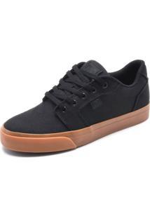 Tênis Dc Shoes Anvil Tx La Preto