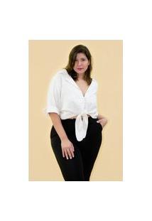 Camisa Eco Stipe Plus Size Off White Camisa Eco Stipe Plus Size Off White Ex Kaue Plus Size