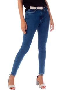 Calça Jeans Feminina Redplay Azul - 42