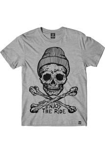 Camiseta Refuse Enjoy The Ride - Cinza