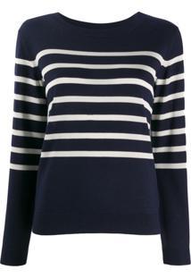A.P.C. Nautical Striped Jumper - Azul