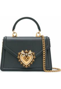 Dolce & Gabbana Bolsa Tote Devotion Pequena - Verde