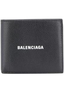 Balenciaga Carteira Quadrada - 101 - Black:1090