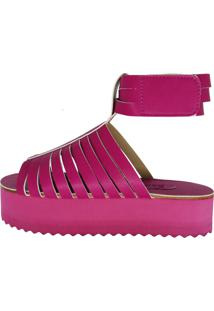 Sandália Zapplin Flatform Pink