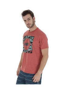 Camiseta Hd Military - Masculina - Coral