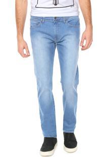 Calça Jeans Sommer Reta Diogo Azul