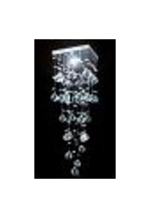 Lustre De Cristal Mie Quadrado 17X17X65Cm - Jp Mie 17