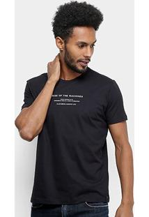 Camiseta Ellus Fine Rise Of The Machines Masculina - Masculino