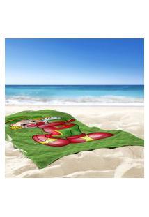 Toalha De Praia / Banho Patati Feliz - Produto Licenciado Único