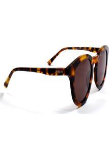 Óculos De Sol Jf Sun Hani-Tartaruga Marrom-Marrom - Kanui