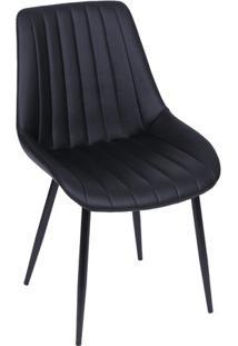 Cadeira Design- Preta- 84X50X42,5Cm- Or Designor Design