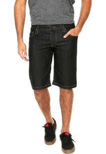 Bermuda Jeans Volcom 2X4 Iii Preta