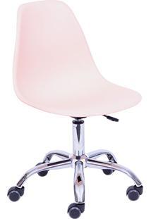 Cadeira Para Escritório Com Rodízio 1102R-Or Design - Salmao