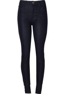 Calca Dudalina Skinny Essentials Feminina (O19 Jeans Escuro, 32)