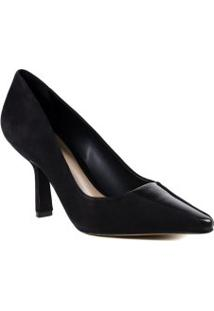 Sapato Feminino Scarpin Casual Schutz Em Couro
