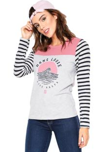 Blusa Hang Loose Tree Collors Cinza