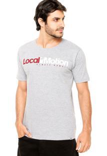 Camiseta Local Motion Hi Standard Cinza