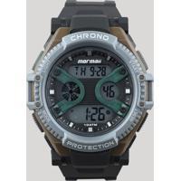 ee6bf2d3da7 Relógio Digital Mormaii Masculino - Mo8590Ab8V Preto - Único