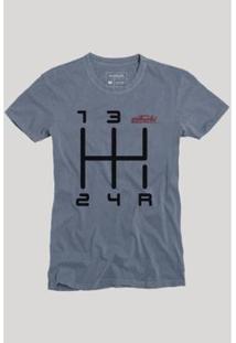 Camiseta Quinta Marcha Reserva Masculina - Masculino-Marinho