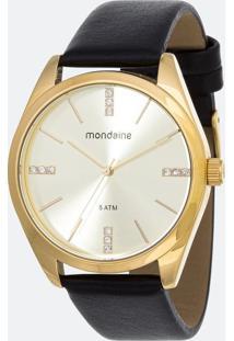 Kit Relógio Feminino Mondaine 76732Lpmvdh1K Analógico 5Atm + Conjunto Semijóia