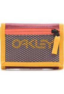 Carteira Oakley 90'S Wallet Amarela/ Bordô