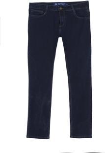 Calça Dudalina Jeans Stretch Five Pockets Masculina (P19/V19/O19 Jeans Escuro, 62)