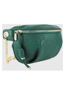 Bolsa Pochete Lenna'S Transversal B038 Verde