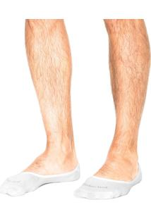 Meia Timberland Invisible Sock Branco