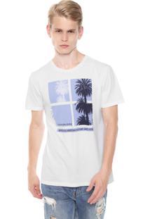 Camiseta Calvin Klein Jeans American Summer Branca