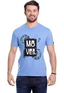 Camiseta Javali Moves Azul