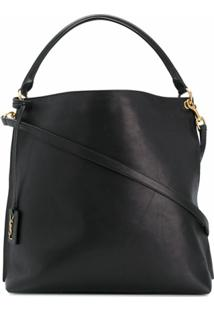 Saint Laurent Hobo Shoulder Bag - Preto
