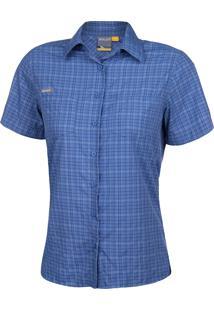 Camisa Xadrez Feminina Mc 17551 - Solo