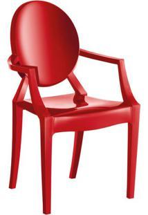Cadeira De Plástico Wind Vermelha