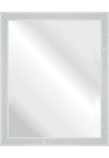 Espelho Branco Riscado 47X57Cm