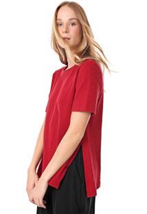 Blusa Osklen Rustic Vermelha