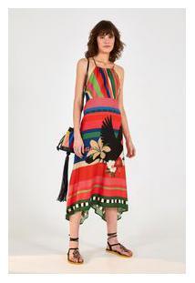 Vestido Cropped Maravilha De Tucano