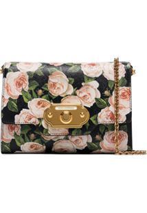 Dolce & Gabbana Bolsa Tiracolo Floral Mini - Estampado