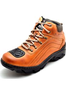 Bota Adventure Clube Do Sapato De Franca Motocycle Whisky