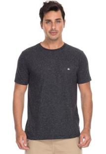 Camiseta Quiksilver Supertransfer Heat Masculina - Masculino-Preto