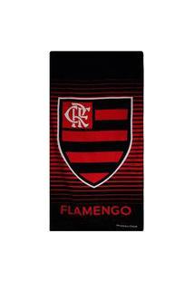 Toalha De Banho Bouton Flamengo Veludo