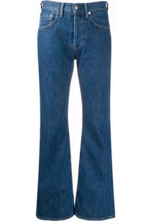 Acne Studios 1992 Flared Mid-Rise Jeans - Azul