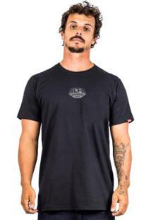 Camiseta Alfa Batter Front Masculina - Masculino-Preto