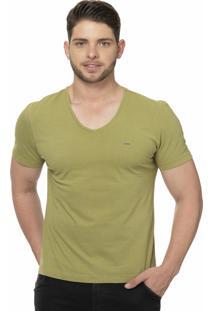 Camiseta Alfaiataria Burguesia Metalist Verde Militar